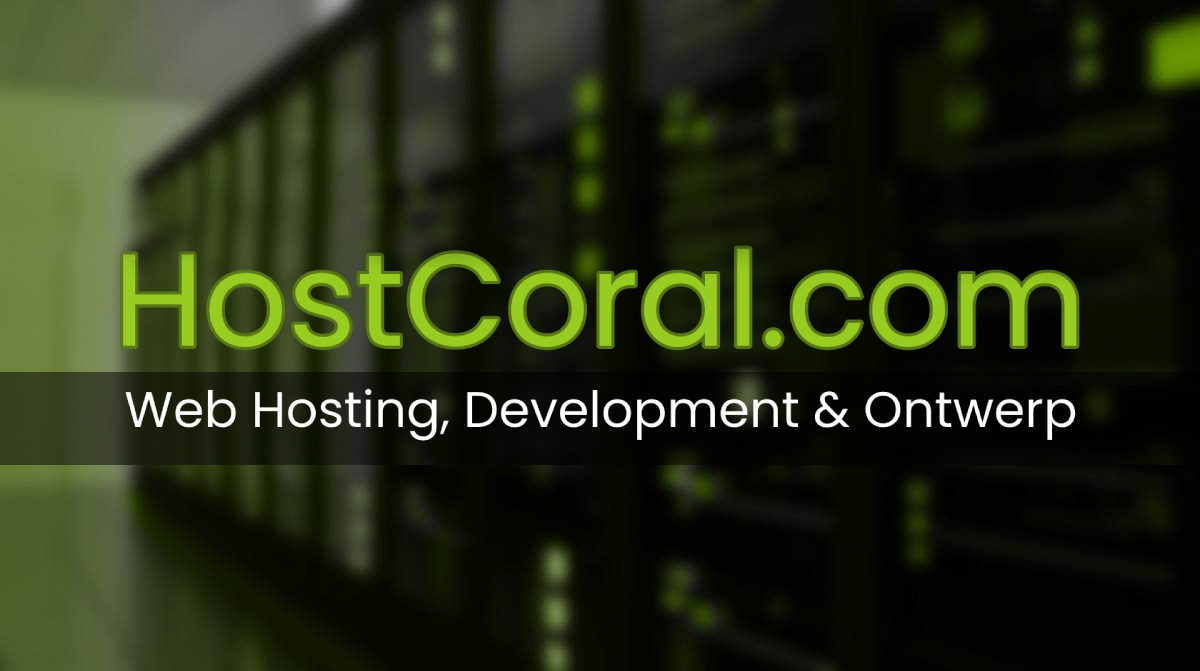HostCoral Web Development & Design